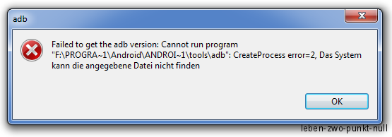 sdk-tools-error